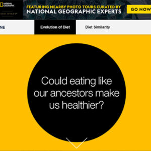 NationalGeographicEvolutionOfDiet